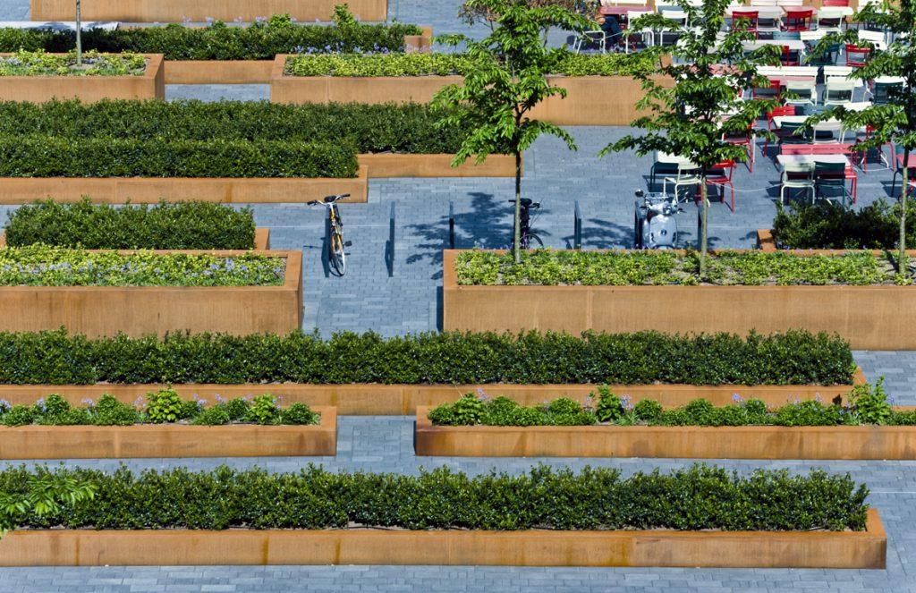 foto mathildeplein openbare ruimte