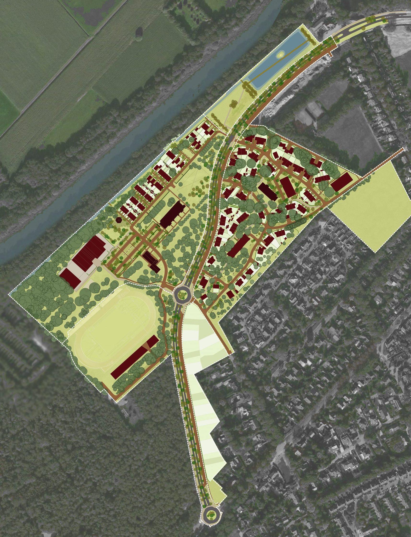 Plankaart Stadhouderspark