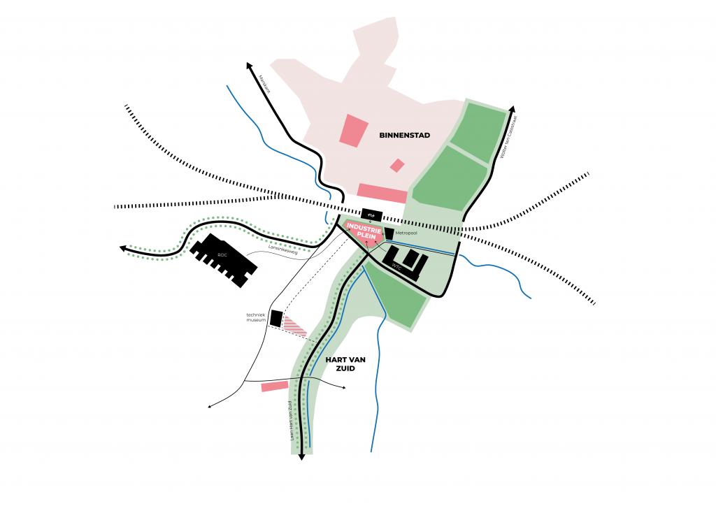 diagram stad hengelo