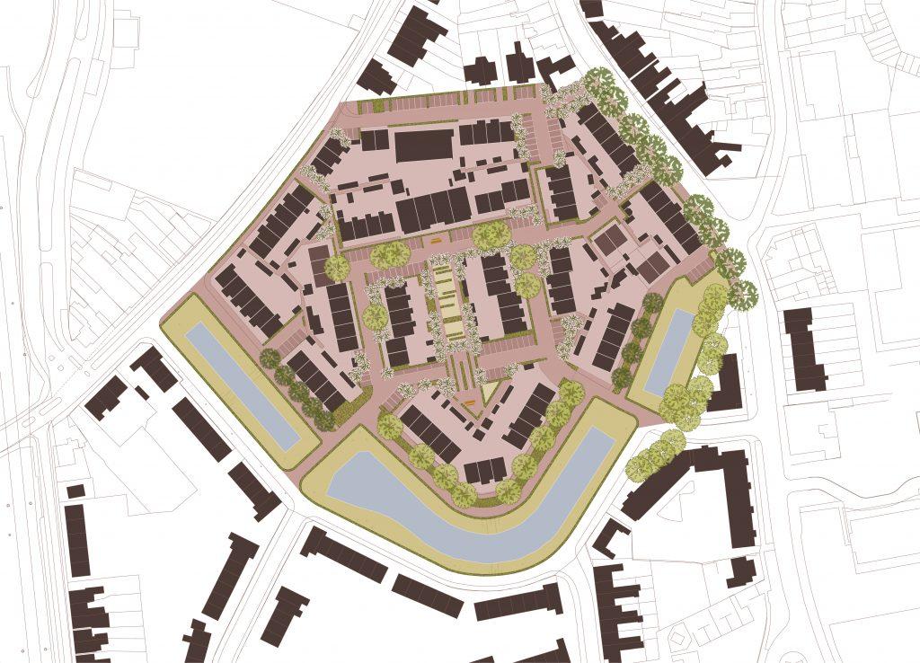 Plankaart Zonneheuvel Vugh