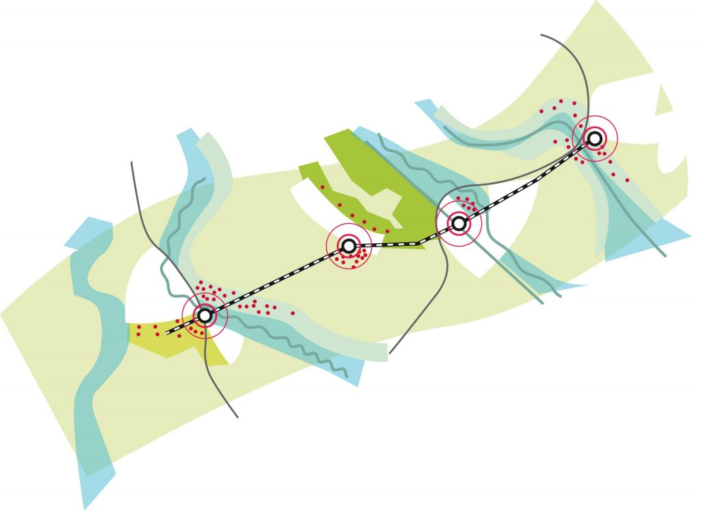 conceptuele plattegrond Duits Lijntje