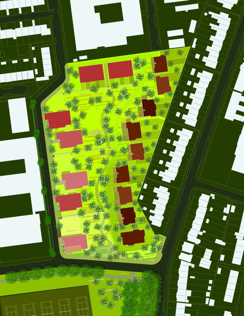 plankaart Frijhof